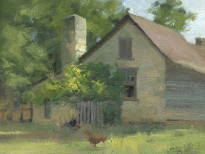 Homestead 9X12 | oil on panel  |  SOLD
