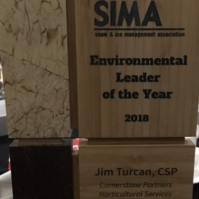 Environmental Leader of the Year Award Winner!