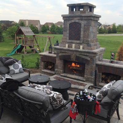 AFTER: Plainfield Backyard Retreat