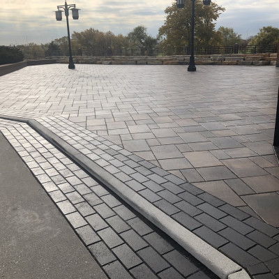 AFTER: Grand Entry Plaza Paver Redesign