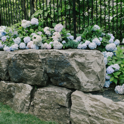 armour stone retaining