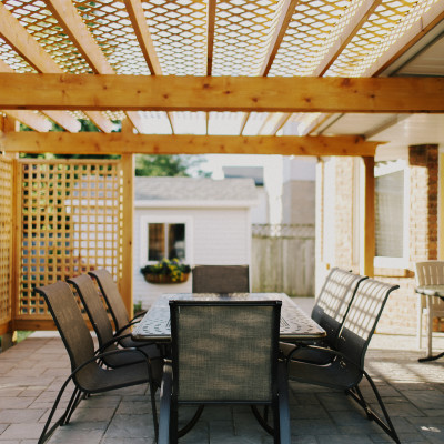 Pergola and Privacy Screens