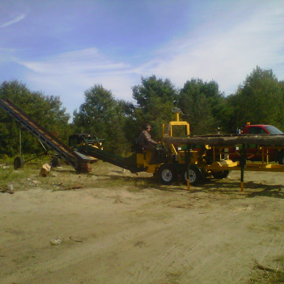 Our Mobile Firewood Processor