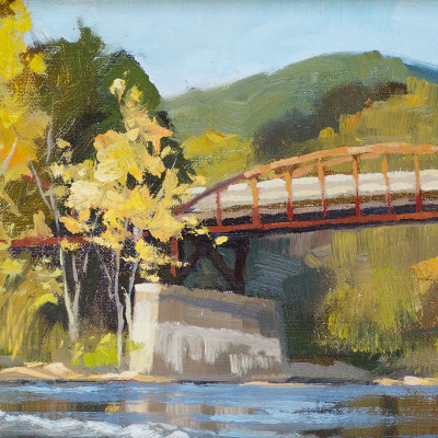Ohiopyle 8X16  |  oil on panel  | SOLD