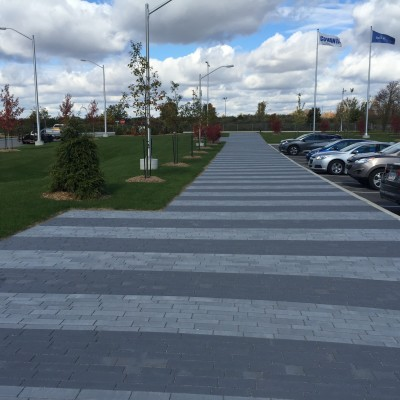 Modern and clean Unilock Artline paver
