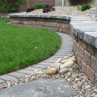 Stackstone Retaining wall