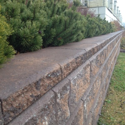 Stone retaining walls are a long lasting solution for almost any application