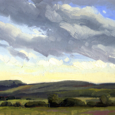 Cloud Study 9X12 | oil on panel  |  SOLD