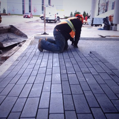 Permeable pavers on your site we are ready