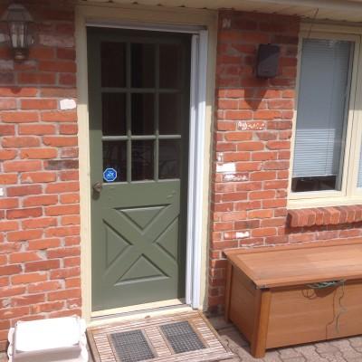 Old extrior door