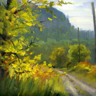 Autumn is Coming 9X12 | oil on panel  |  SOLD