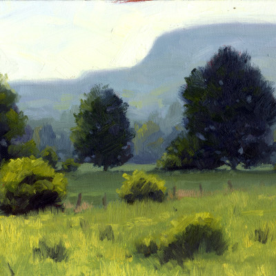 Field Study 9X12 | oil on panel  |  SOLD
