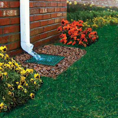 Downspout Catch Basin Design