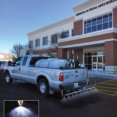 Liquid Anti-Ice Applications in advance of pending snow storm
