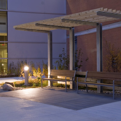 Peterborough Hospital Courtyard