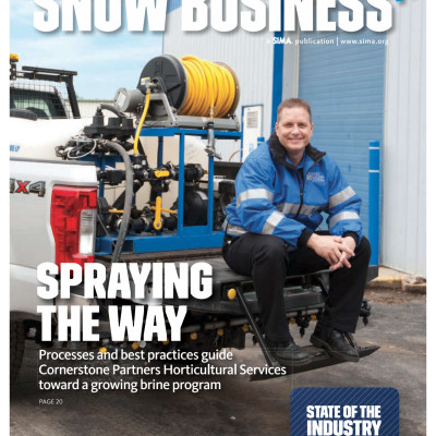 Snow Business Magazine Cover Story 2018