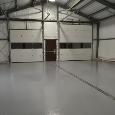 Seamless Epoxy Floor Coating