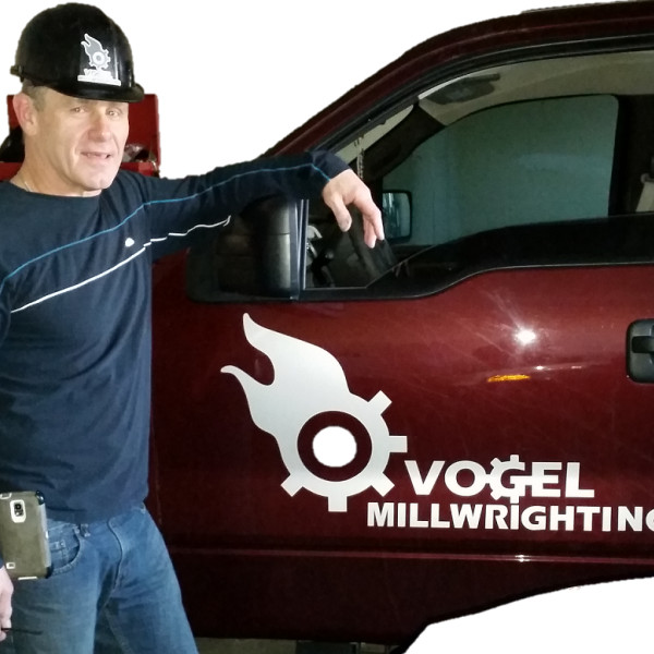 Terry Spielvogel, Owner and Licensed Millwright