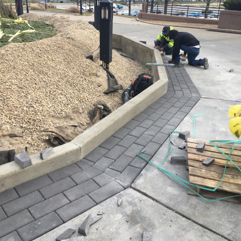 IN-PROGRESS: Grand Entry Plaza Center Island Redesign