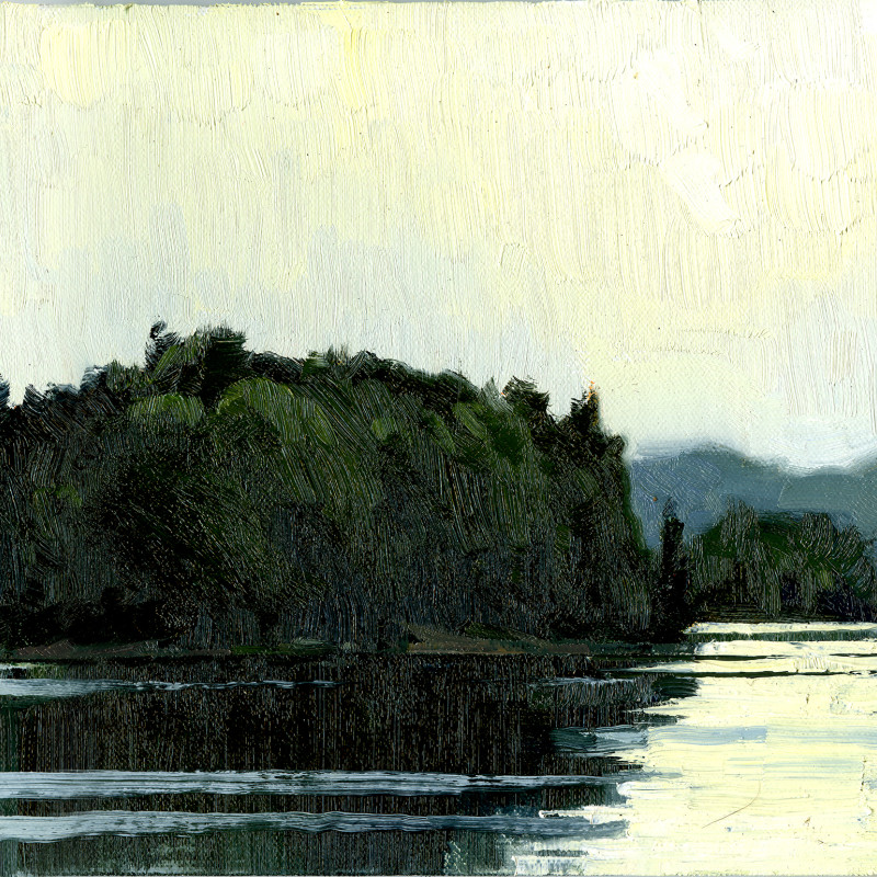 Parry Sound 8X16  | oil on panel  |  SOLD
