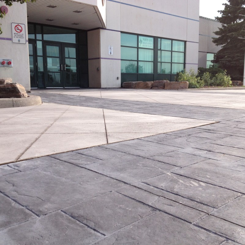 Municipal concrete work is one of our specialties