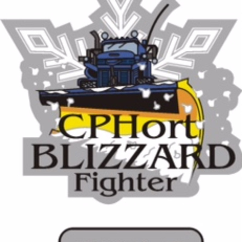 Blizzard of 2015 Team Member Award Patch