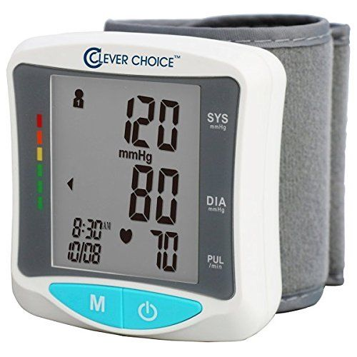 Auto Wrist Talking Blood Pressure Monitor