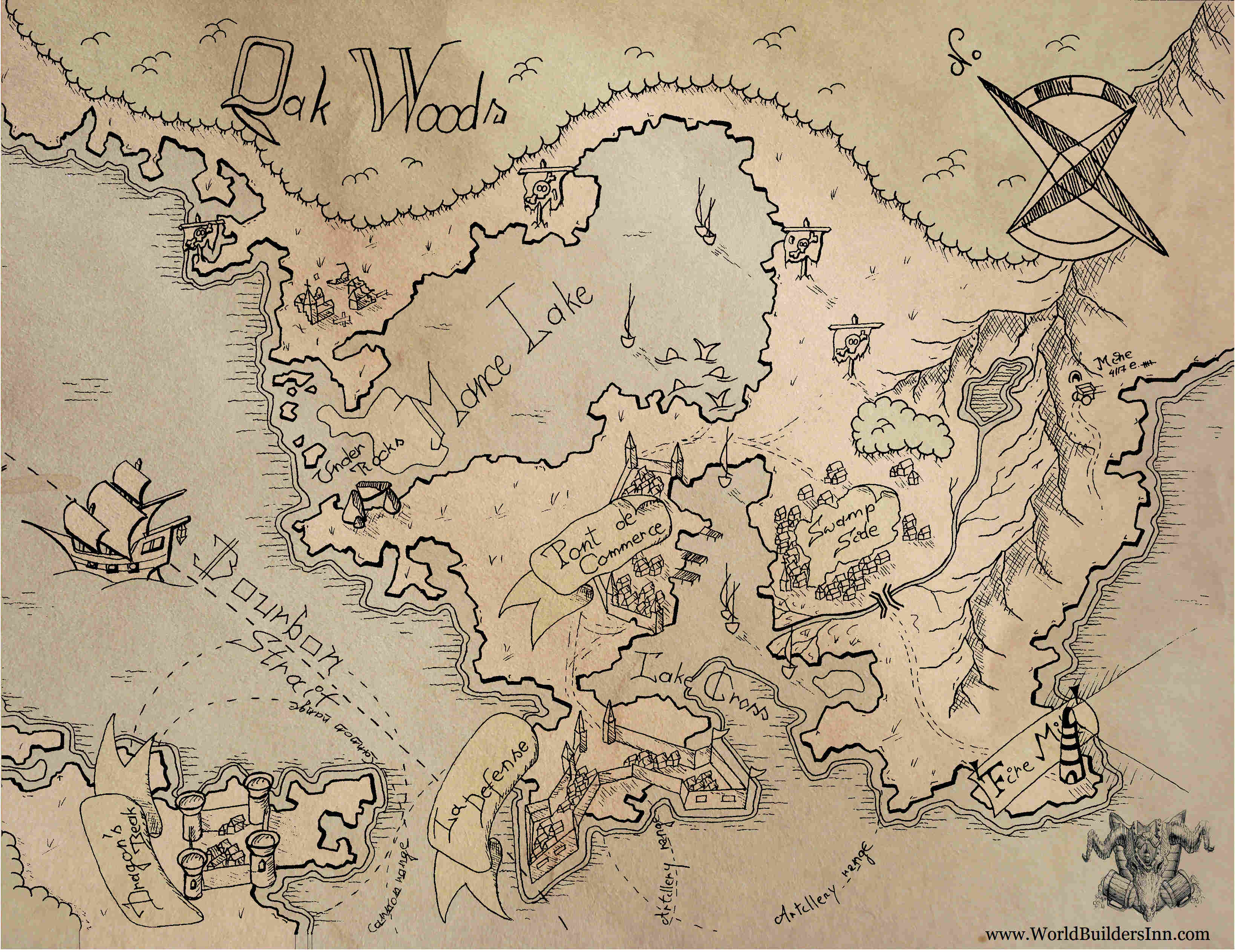 Worldbuilding io: The Sellsword Summer Mapping Contest