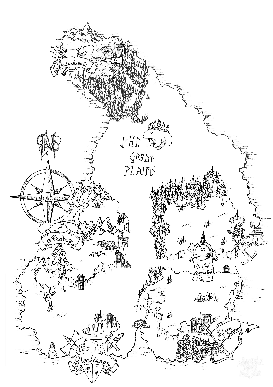 Thor's tear map