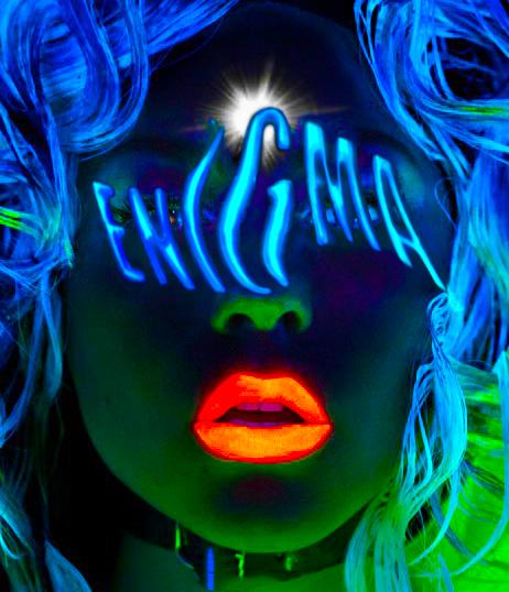 Lady Gaga Show Poster Enigma