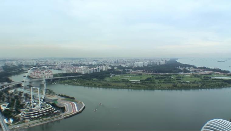 Vídeo 10 Singapur – Vistas de Singapur desde el Marina Bay Sands