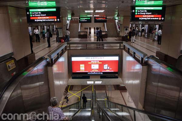 Cómo moverse por Singapur con el SMRT (Singapore Mass Rapid Transit)