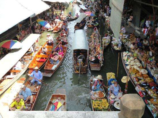Mercado Flotante Damnoen Saduak (Tailandia)