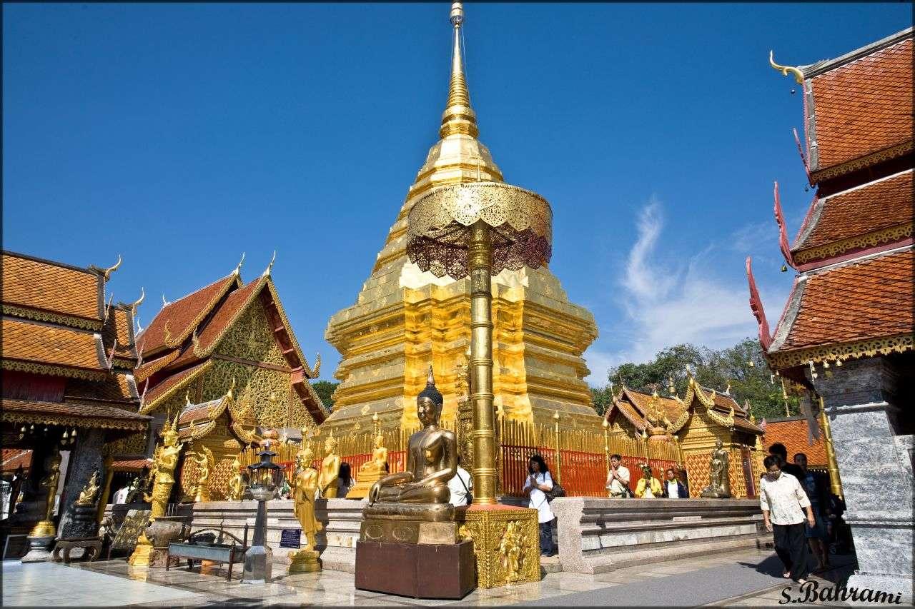 Doi Suthep. Visita obligada en Chiang Mai (Tailandia)