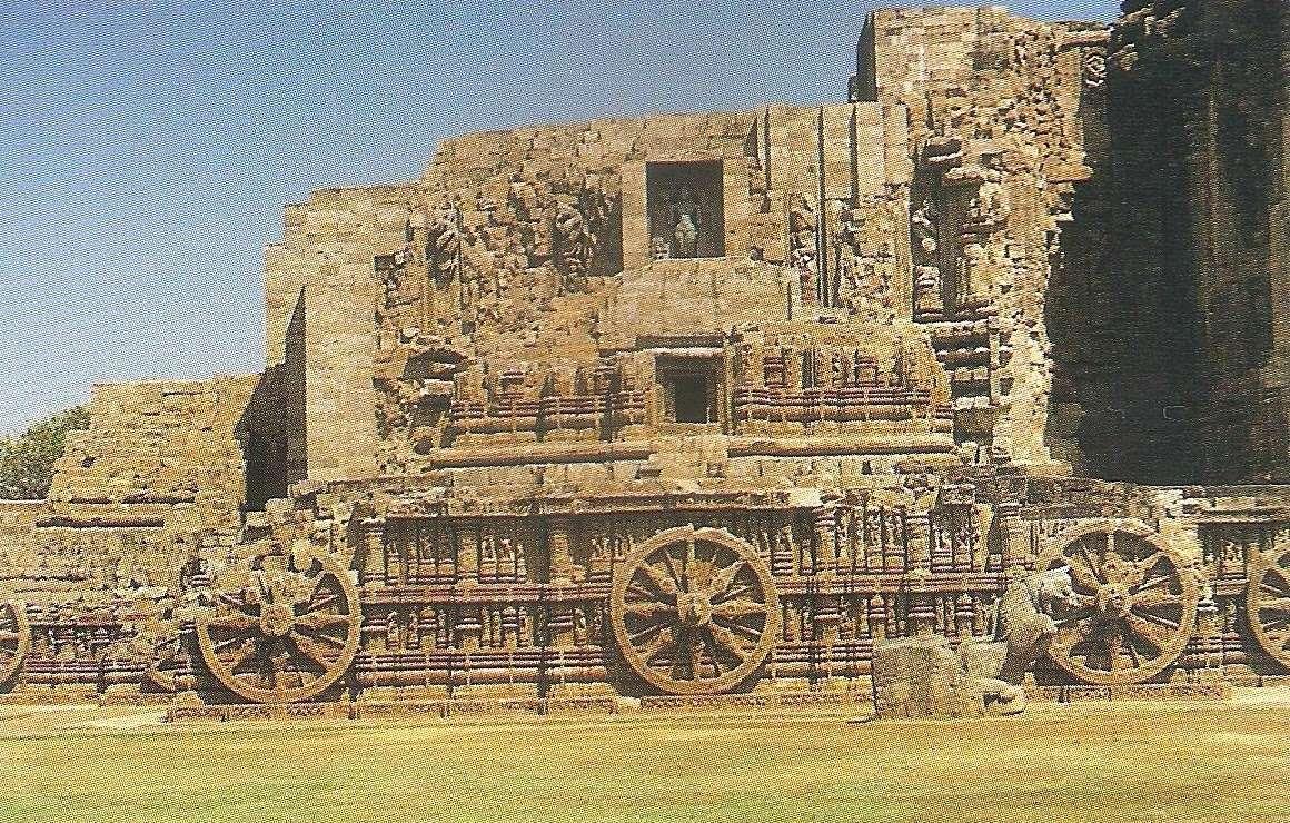 El espectacular templo con forma de carro en honor del dios hindú Suria