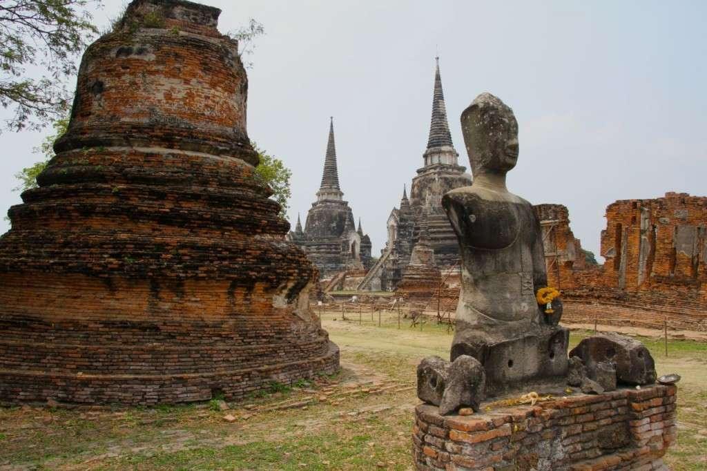 Ayutthaya y Sukhothai (Tailandia)