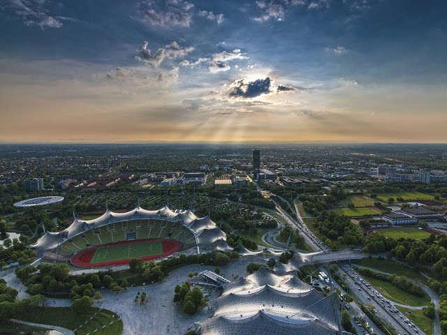 Sube a la Torre Olímpica de Munich y admira el Olympiapark