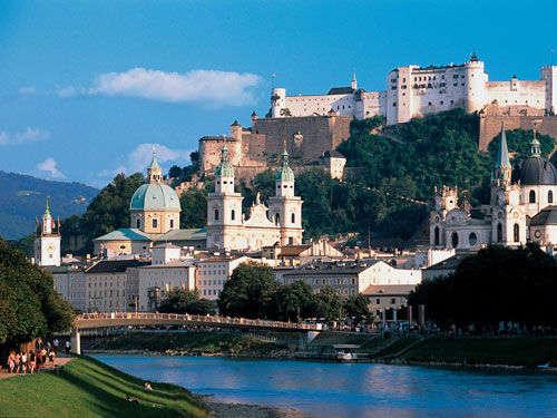 La Fortaleza Hohensalzburg: Viendo a Salzburgo desde arriba