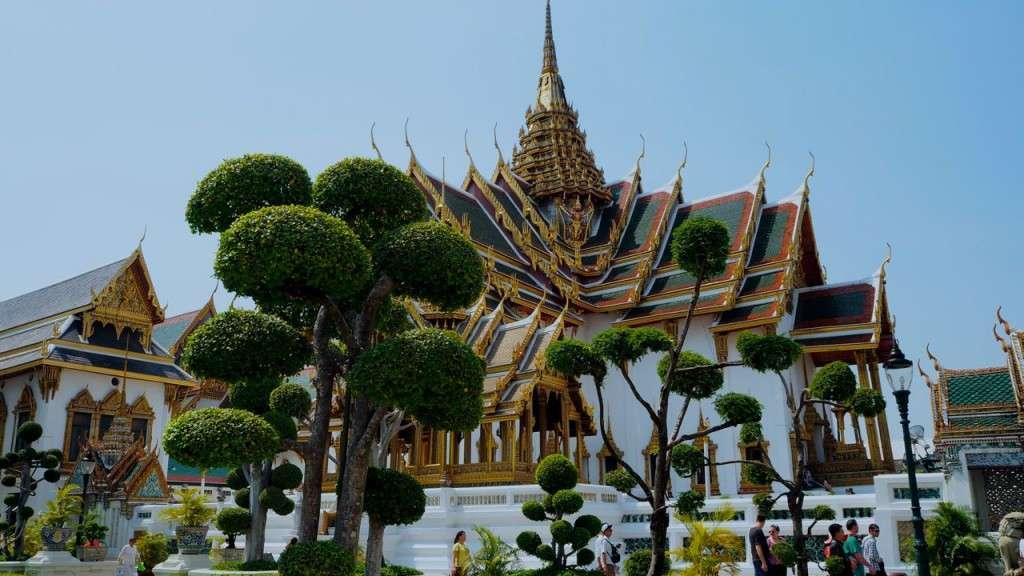 Gran Palacio y Buda esmeralda en Bangkok (Tailandia)