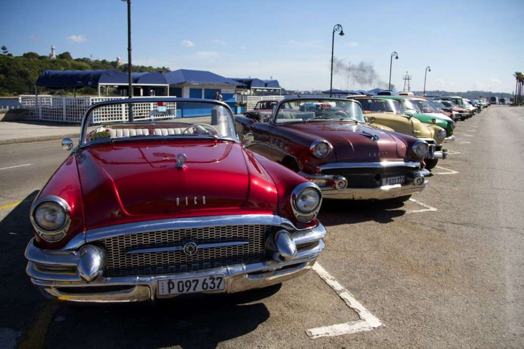 Taxis en La Habana (Cuba)