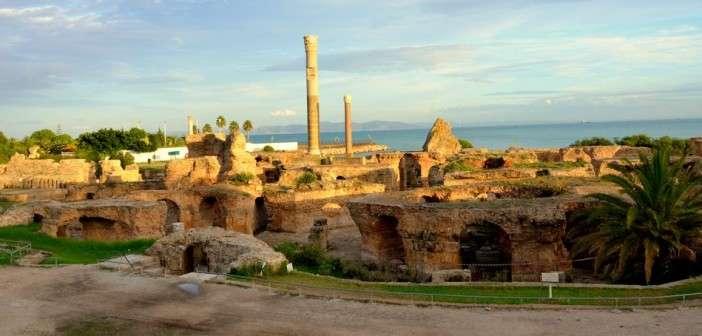 Ruinas de la ciudad de Cartago y el Museo Bardo (Túnez)