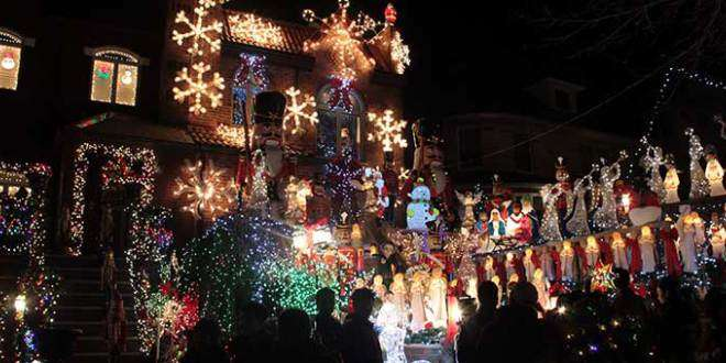 Las casas iluminadas de Brooklyn – Dyker Heights