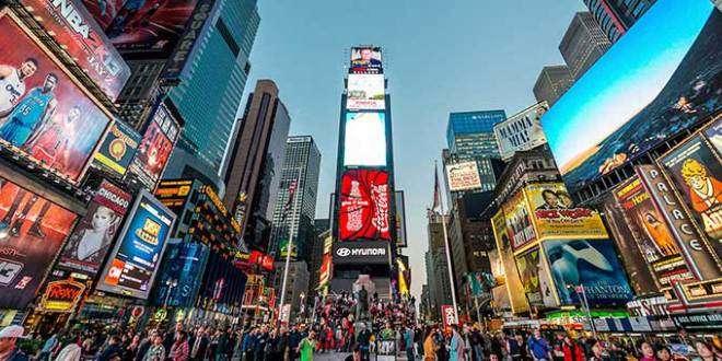 Listado de hoteles recomendados situados en pleno Times Square