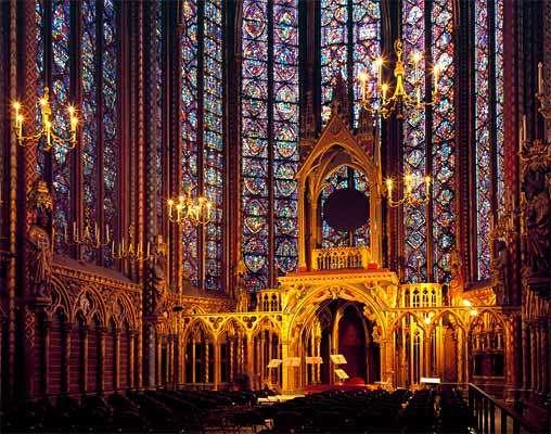 La Sainte-Chapelle de París