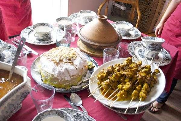 La cocina de Marruecos