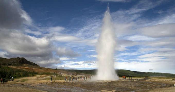 Geysir y los Geisers en Islandia