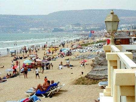 Ciudad de Agadir (Marruecos)