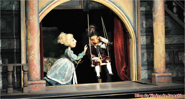 Marionetas en Praga