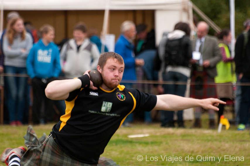 Escocia. Los Highland Games.