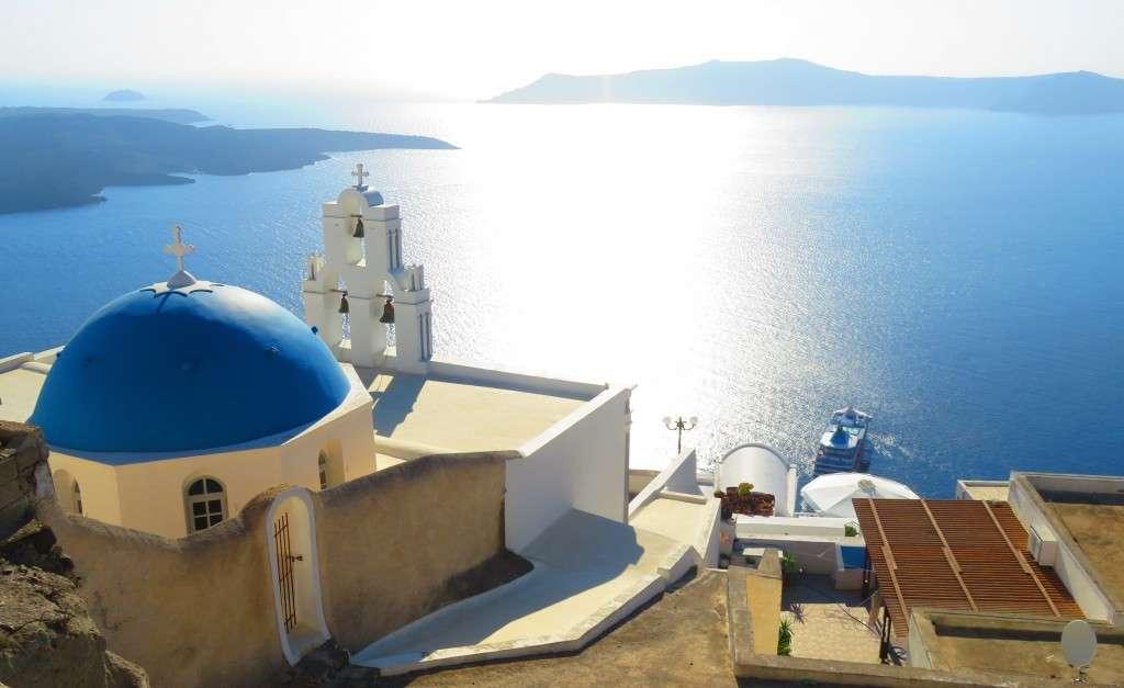 Santorini, un lujo en el Mediterráneo